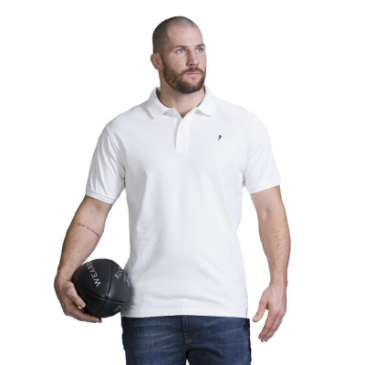 Polo Ruckfield Rugby Blanc