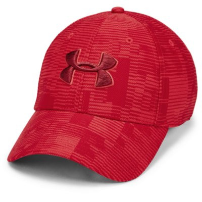 Casquette Printed Rouge