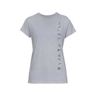 T-shirt Vertical Gris Femme