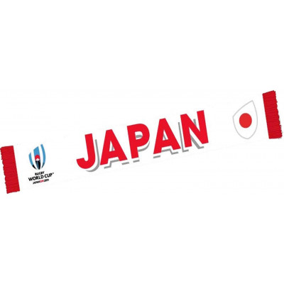 Echarpe RWC 19 Japon Blanche