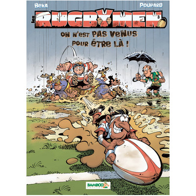 BD Les Rugbymen Tome 3