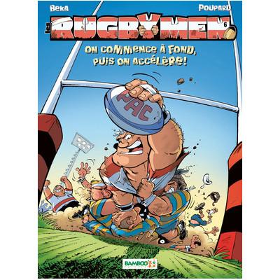 BD Les Rugbymen Tome 6