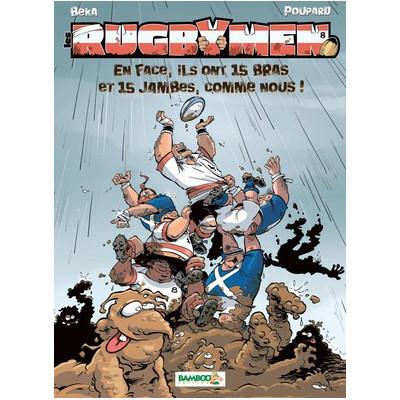 BD Les Rugbymen Tome 8