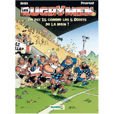 BD Les Rugbymen Tome 15