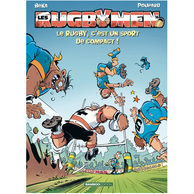 BD Les Rugbymen Tome 16