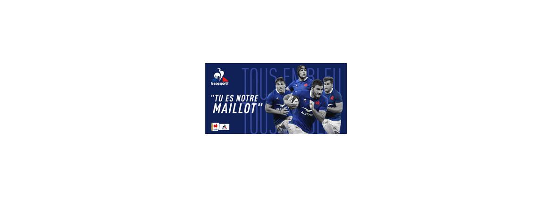 Boutique en ligne Ô Rugby - Collection Supporter XV de France