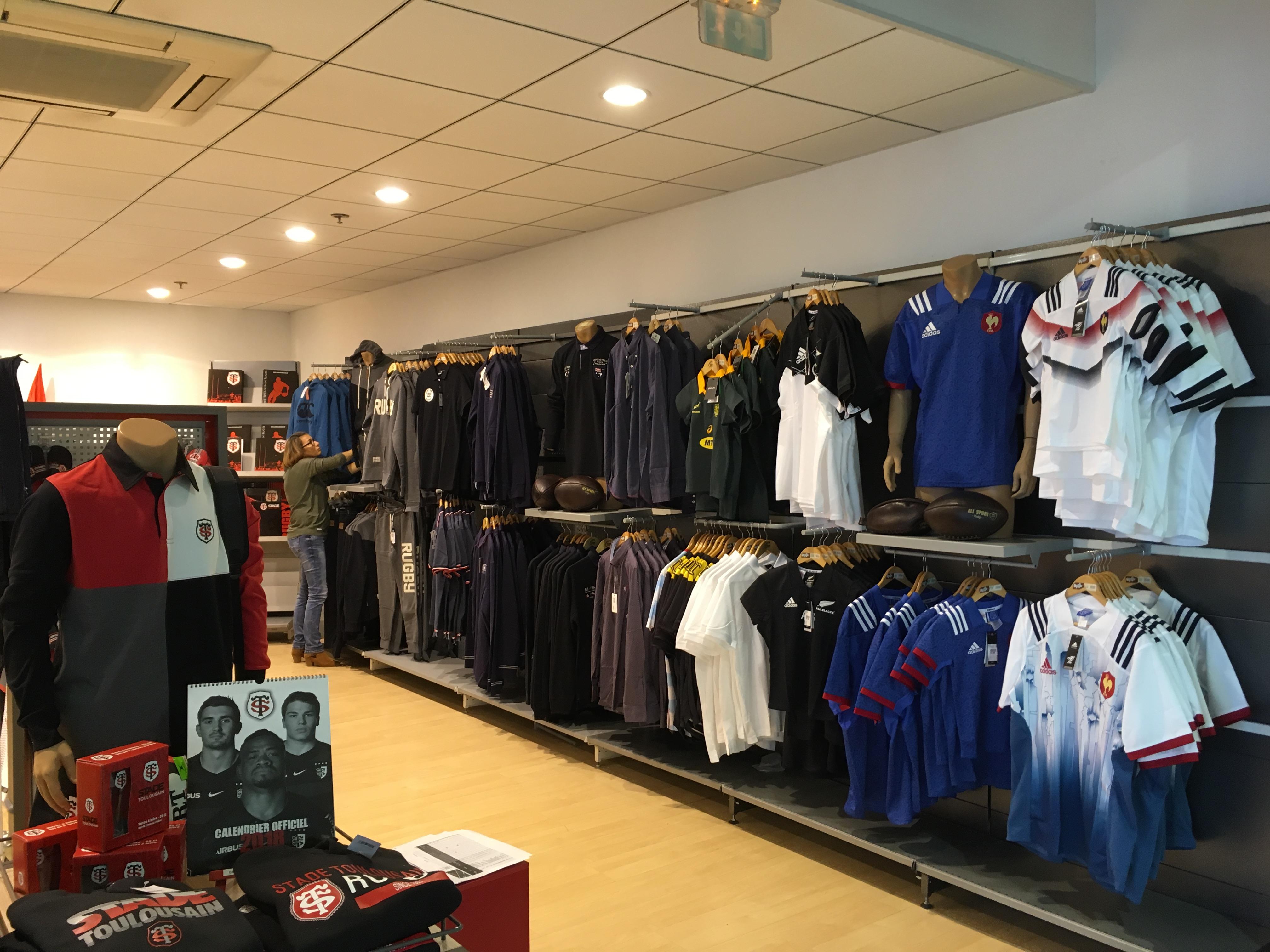nouveau magasin Ô Rugby Rouffiac